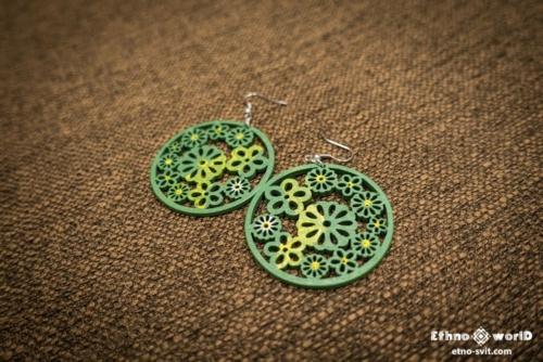 Сережки- Earrings ethno style